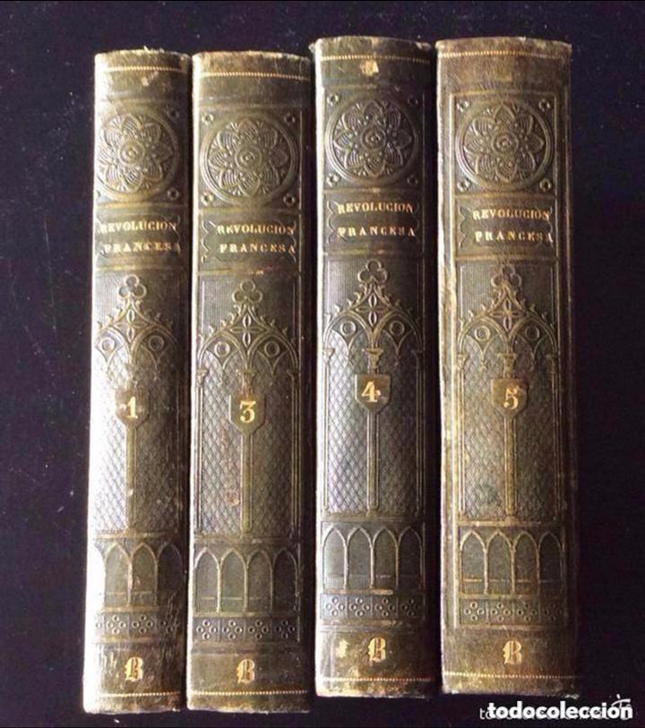 Libros antiguos: REVOLUCION FRANCESA P. Mellado. Madrid, 1845 -. ,INCOMPLETA 4 TOMOS REVOLUCION FRANCESA P. Mellado. - Foto 2 - 276671818