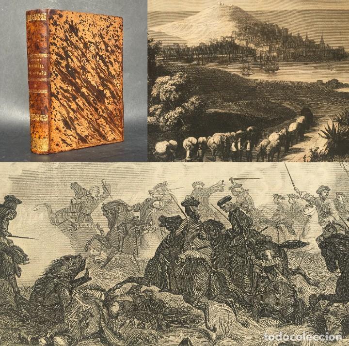 1863 - GUERRA DE INDEPENDENCIA - MAPA DE MADRID - TARRAGONA - LA CORUÑA - CADIZ - FUENTERRABÍA (Libros antiguos (hasta 1936), raros y curiosos - Historia Moderna)