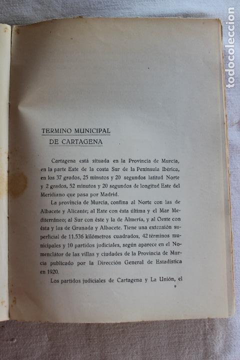 Libros antiguos: CATALOGO DE LOS BIENES DE PROPIOS DEL AYUNTAMIENTO CARTAGENA 1924 - Foto 6 - 278184033