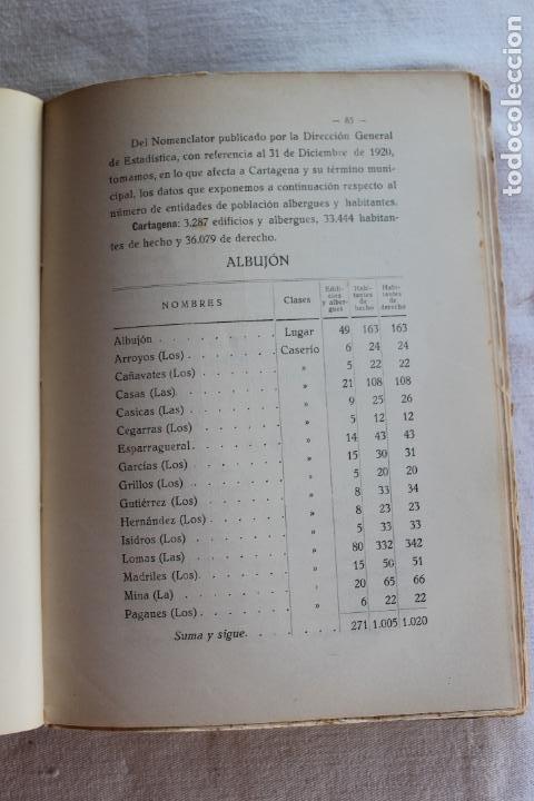 Libros antiguos: CATALOGO DE LOS BIENES DE PROPIOS DEL AYUNTAMIENTO CARTAGENA 1924 - Foto 7 - 278184033