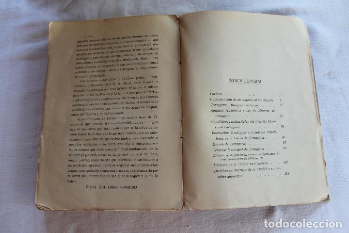 Libros antiguos: CATALOGO DE LOS BIENES DE PROPIOS DEL AYUNTAMIENTO CARTAGENA 1924 - Foto 17 - 278184033