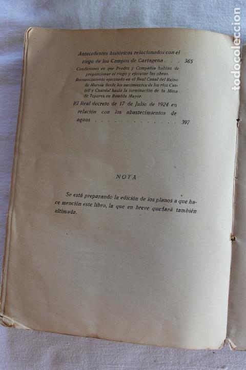 Libros antiguos: CATALOGO DE LOS BIENES DE PROPIOS DEL AYUNTAMIENTO CARTAGENA 1924 - Foto 19 - 278184033