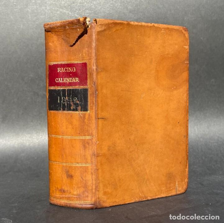 AÑO 1892 - HÍPICA - CARRERAS DE CABALLOS - JOCKEY CLUB - THE RACING CALENDAR (Libros antiguos (hasta 1936), raros y curiosos - Historia Moderna)