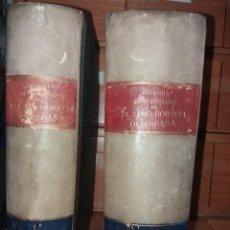 Libros antiguos: HISTORIA DEL REINADO DEL ULTIMO BORBON DE ESPAÑA. SALVADOR MANERO, TOMOS I Y III. ED. LUJO 1868 - 69. Lote 278253478