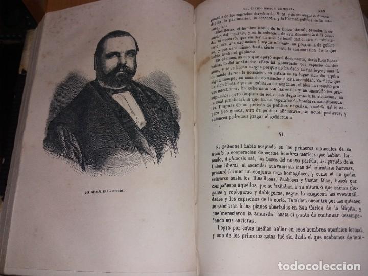 Libros antiguos: HISTORIA DEL REINADO DEL ULTIMO BORBON DE ESPAÑA. SALVADOR MANERO, TOMOS I Y III. ED. LUJO 1868 - 69 - Foto 6 - 278253478