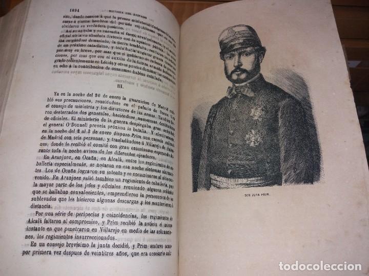 Libros antiguos: HISTORIA DEL REINADO DEL ULTIMO BORBON DE ESPAÑA. SALVADOR MANERO, TOMOS I Y III. ED. LUJO 1868 - 69 - Foto 8 - 278253478