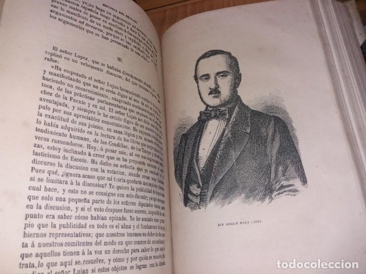 Libros antiguos: HISTORIA DEL REINADO DEL ULTIMO BORBON DE ESPAÑA. SALVADOR MANERO, TOMOS I Y III. ED. LUJO 1868 - 69 - Foto 14 - 278253478