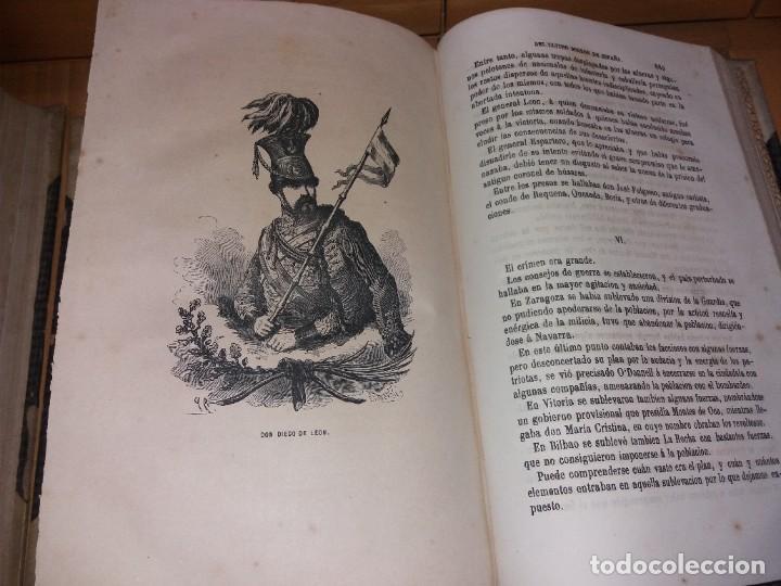Libros antiguos: HISTORIA DEL REINADO DEL ULTIMO BORBON DE ESPAÑA. SALVADOR MANERO, TOMOS I Y III. ED. LUJO 1868 - 69 - Foto 15 - 278253478