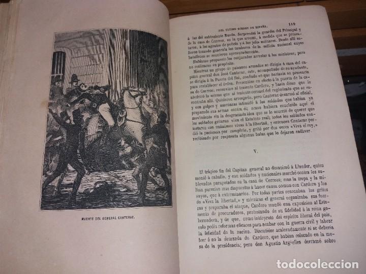 Libros antiguos: HISTORIA DEL REINADO DEL ULTIMO BORBON DE ESPAÑA. SALVADOR MANERO, TOMOS I Y III. ED. LUJO 1868 - 69 - Foto 16 - 278253478