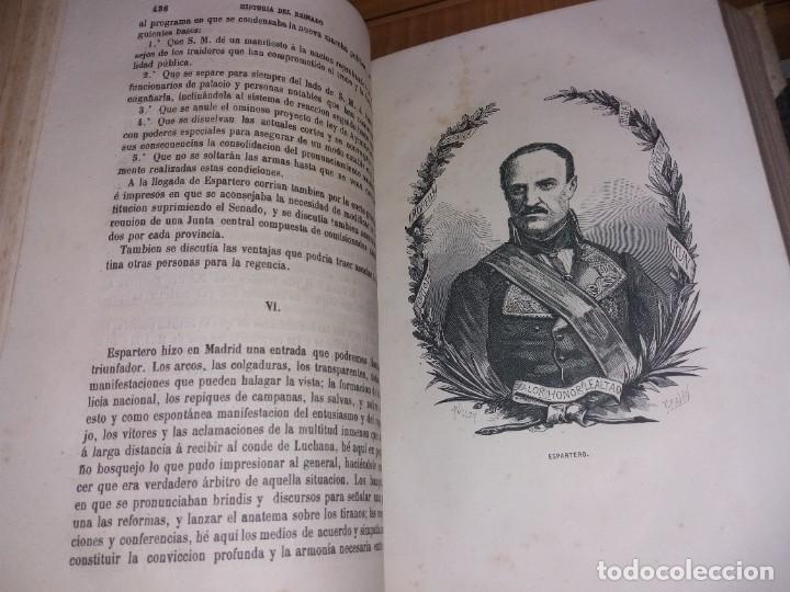 Libros antiguos: HISTORIA DEL REINADO DEL ULTIMO BORBON DE ESPAÑA. SALVADOR MANERO, TOMOS I Y III. ED. LUJO 1868 - 69 - Foto 17 - 278253478