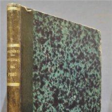 Libros antiguos: 1853.- HISTORIA DE LA CONQUISTA DEL PERU. PRESCOTT. Lote 278323423