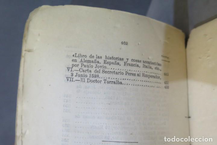 Libros antiguos: 1875.- MEMORIAS PARA LA HISTORIA DEL ASALTO Y SAQUEO DE ROMA EN 1527 POR EL EJERCITO IMPERIAL - Foto 8 - 278508513