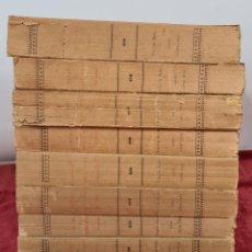 Libros antiguos: DIETARI DEL ANTICH CONSELL BARCELONI. VVAA. IMP. HENRICH Y CIA. 10 VOL.1892/1901.. Lote 279516708