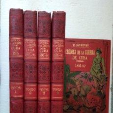 Libros antiguos: CRONICA DE LA GUERRA DE CUBA - 1895 - 97 - R. GUERRERO. Lote 279527683