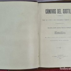 Libros antiguos: CANOVAS DEL CASTILLO. EDIT. EMILIO DEL CASTILLO. ROMERO IMPRESOR. 1901.. Lote 279529193