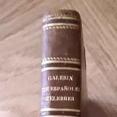 Libros antiguos: GALERIA DE ESPAÑOLES CELEBRES. BIOGRAFIAS Y RETRATOS. TOMO 2. 1842. MADRID. IMPRENTA DE D. VICENTE. Lote 279559698