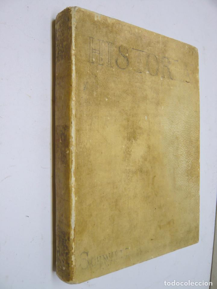 HISTORIA CRITICA DE ESPAÑA - FEDERICO SCHWARTZ - UNIVERSIDAD BARCELONA AÑO 1889. PERGAMINO (Libros antiguos (hasta 1936), raros y curiosos - Historia Moderna)
