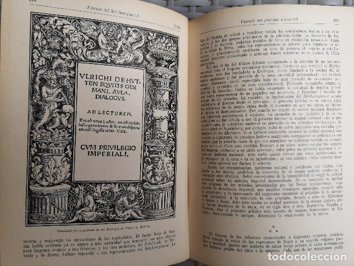 Libros antiguos: LIBRO - EDITORIAL RAMON SOPENA - 1935 - HISTORIA DEL MUNDO EDAD MODERNA - TOMO II LA REFORMA - Foto 10 - 287816408