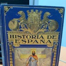 Libros antiguos: HISTORIA DE ESPAÑA. AGUSTÍN BLÁNKEZ FRAILE. 4A. Lote 287853293