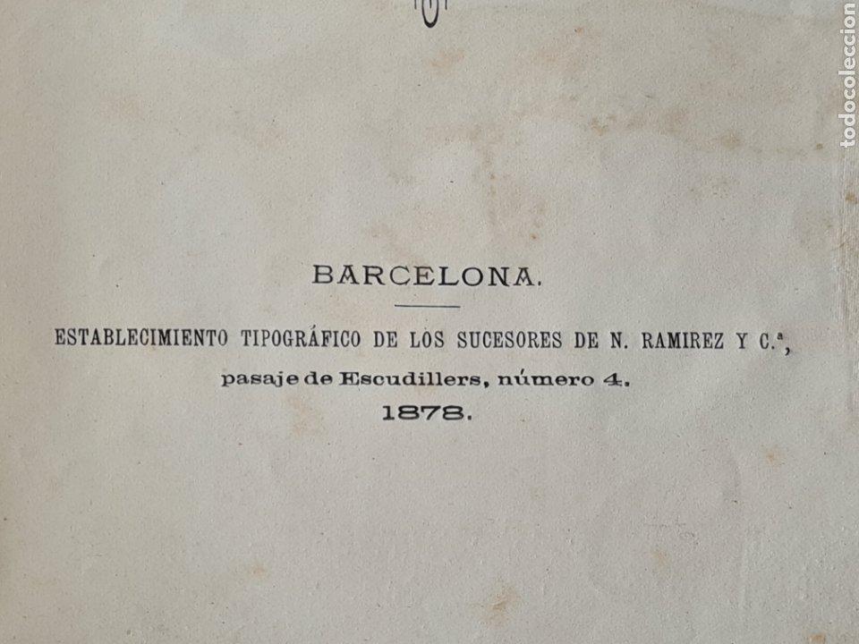 Libros antiguos: Antigua Demostración Derecho Casa Provincial Caridad BCN Reivindicar Plaza Toros Barceloneta 1878 - Foto 10 - 287974403