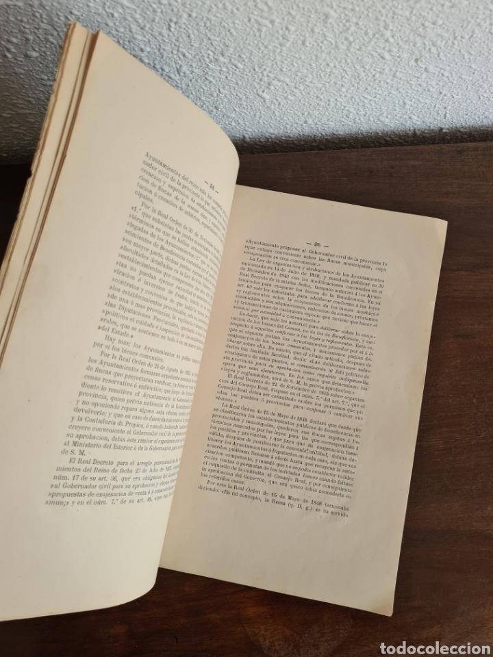 Libros antiguos: Antigua Demostración Derecho Casa Provincial Caridad BCN Reivindicar Plaza Toros Barceloneta 1878 - Foto 18 - 287974403