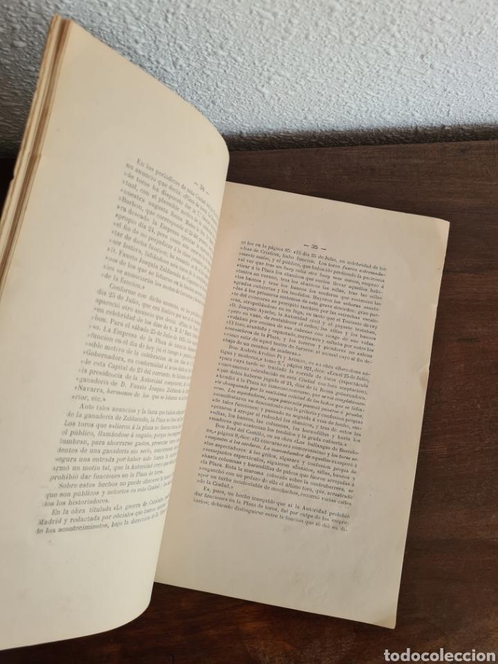 Libros antiguos: Antigua Demostración Derecho Casa Provincial Caridad BCN Reivindicar Plaza Toros Barceloneta 1878 - Foto 19 - 287974403
