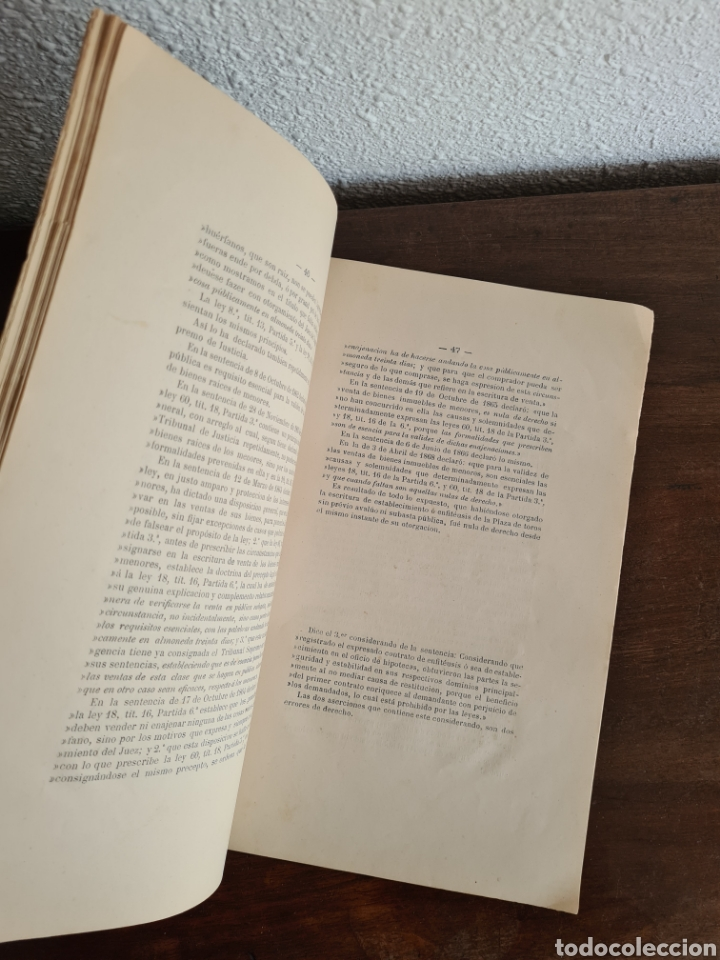 Libros antiguos: Antigua Demostración Derecho Casa Provincial Caridad BCN Reivindicar Plaza Toros Barceloneta 1878 - Foto 21 - 287974403