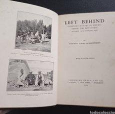 Libros antiguos: BUXHOEVEDEN LEFT BEHIND 1929 RUSIA RUSSIA REVOLUCIÓN RUSA ROMANOV HISTORIA SIBERIA ZAR TZAR. Lote 288343578