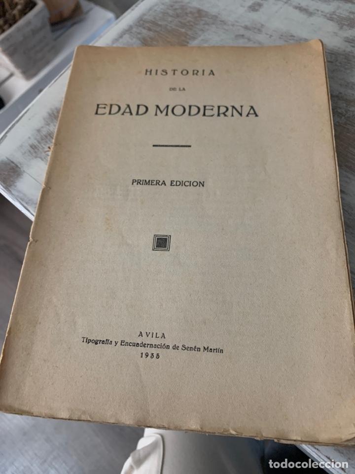 Libros antiguos: Historia de la edad moderna - Foto 2 - 288501793