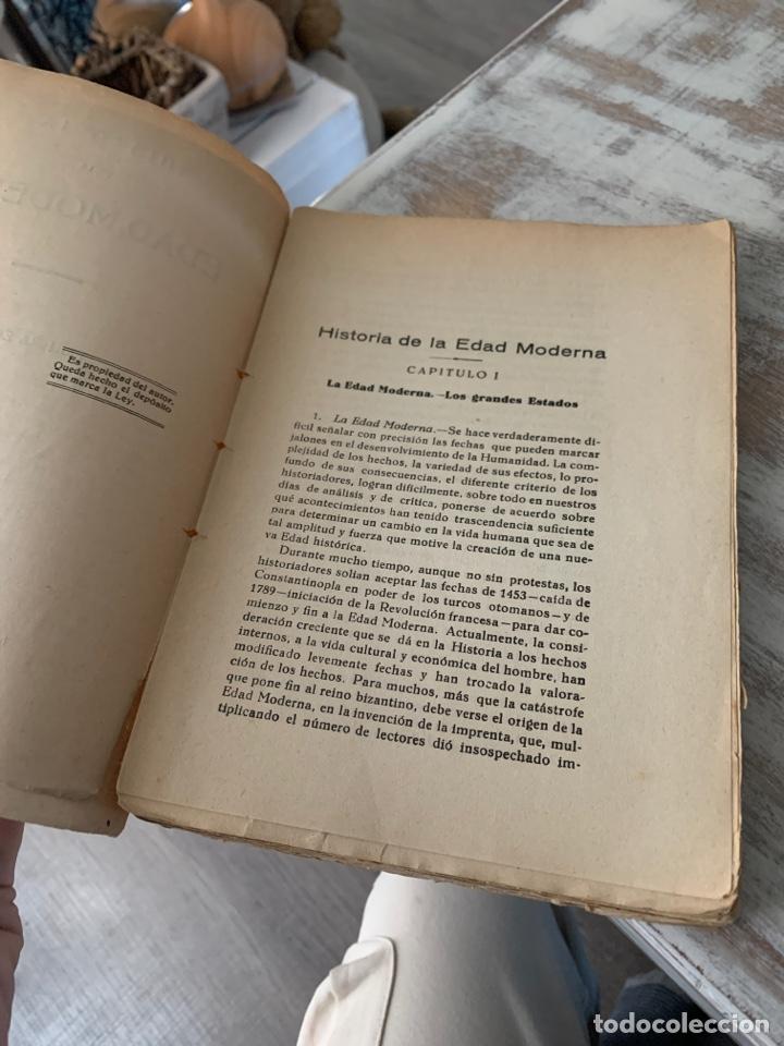 Libros antiguos: Historia de la edad moderna - Foto 3 - 288501793