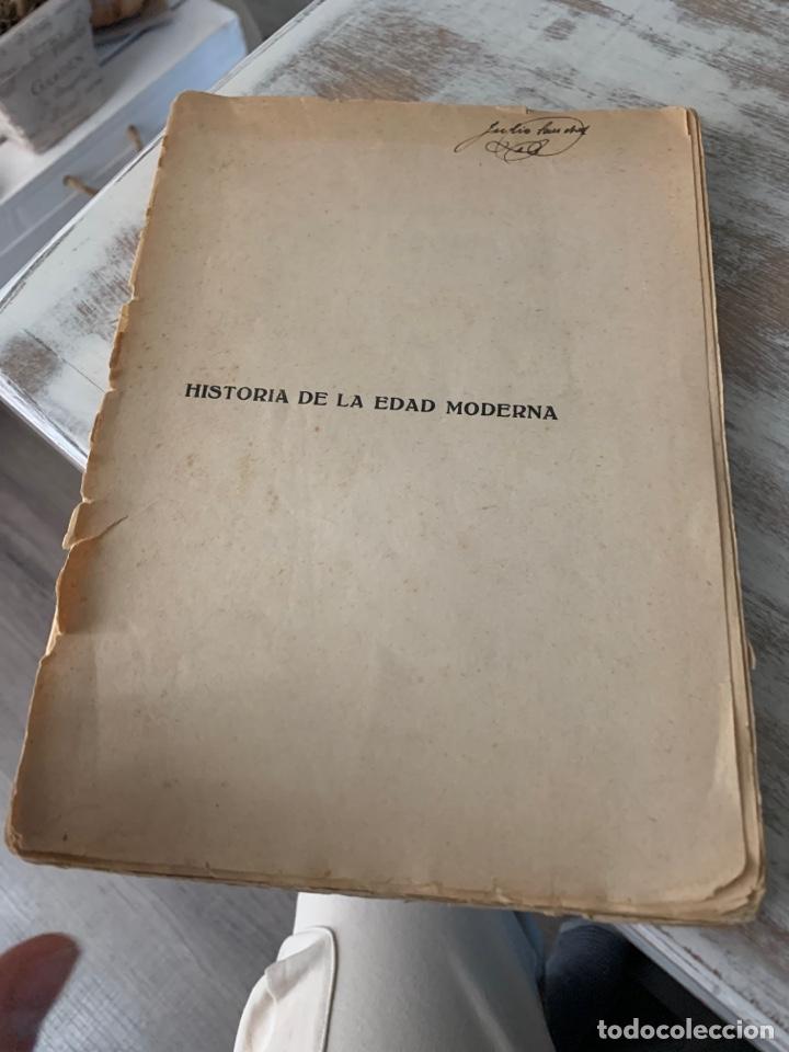 HISTORIA DE LA EDAD MODERNA (Libros antiguos (hasta 1936), raros y curiosos - Historia Moderna)