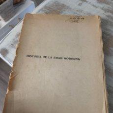 Libros antiguos: HISTORIA DE LA EDAD MODERNA. Lote 288501793