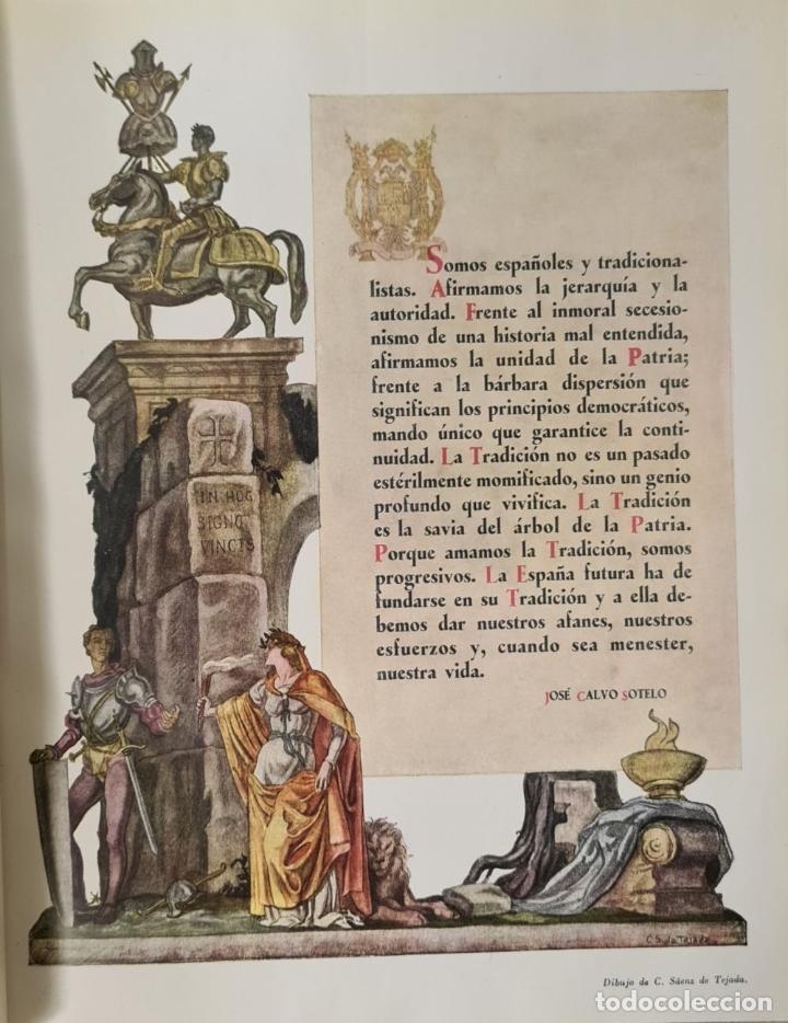 Libros antiguos: HISTORIA DE LA CRUZADA ESPAÑOLA. VVAA. EDICIONES ESPAÑOLAS. 6 TOMOS. 1939/1941. - Foto 5 - 288940988