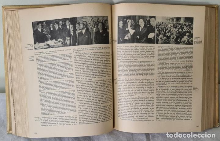 Libros antiguos: HISTORIA DE LA CRUZADA ESPAÑOLA. VVAA. EDICIONES ESPAÑOLAS. 6 TOMOS. 1939/1941. - Foto 6 - 288940988