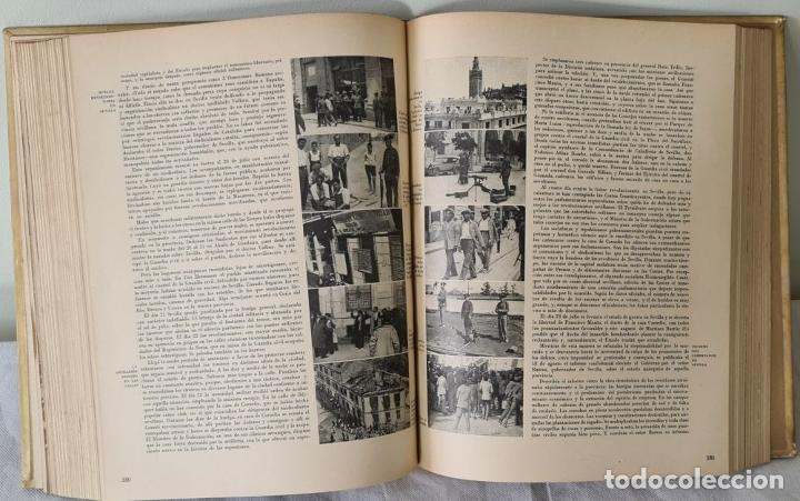 Libros antiguos: HISTORIA DE LA CRUZADA ESPAÑOLA. VVAA. EDICIONES ESPAÑOLAS. 6 TOMOS. 1939/1941. - Foto 7 - 288940988