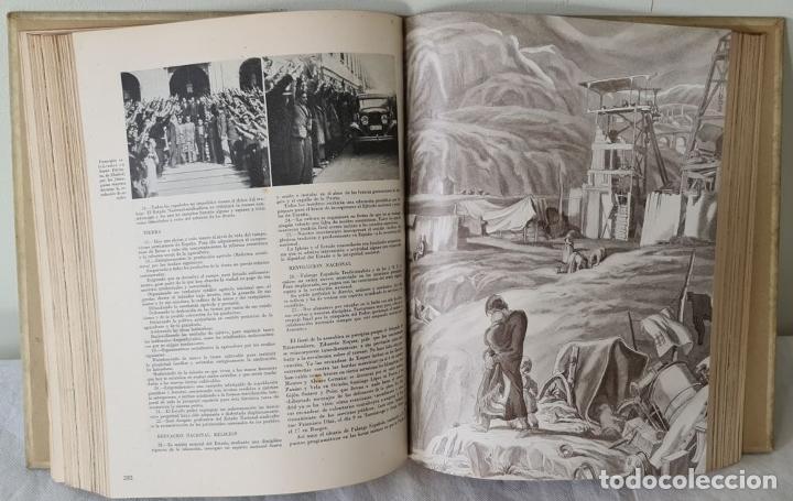 Libros antiguos: HISTORIA DE LA CRUZADA ESPAÑOLA. VVAA. EDICIONES ESPAÑOLAS. 6 TOMOS. 1939/1941. - Foto 9 - 288940988