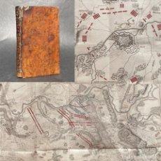 Libros antiguos: 1760 - TEATRO DE LA PRESENTE GUERRA DE ALEMANIA - LIBRO DE MAPAS DE LA GUERRA EN ALEMANIA - GRABADOS. Lote 289210448