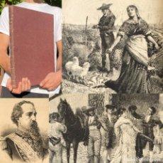 Libros antiguos: AÑO 1885 - OBRA MAGNA - LA ILUSTRACION ESPAÑOLA Y AMERICANA - GRAN TAMAÑO - ILUSTRACIONES. Lote 289285833