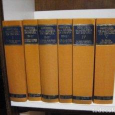 Livros antigos: HISTORIA DE LA IGLESIA EN ESPAÑA. 6 TOMOS. GARCÍA-VILLOSLADA. B.A.C, 1979 /80. Lote 294028998