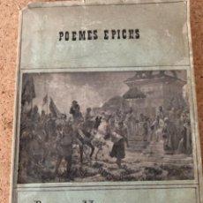 Libros antiguos: POEMA EPICHS, ROUDOR DE LLOBREGAT Ó SÍA, LOS CATALANES EN GRECIA (BOLS, 13). Lote 295712918
