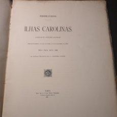 Libros antiguos: ISLAS CAROLINAS . CONFLICTO ENTRE ESPAÑA Y ALEMANIA. EN PORTUGUÉS. O' PORTO 1885. Lote 296888793