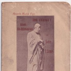 Libros antiguos: ACISCLO MUÑIZ VIGO: ÁRBOL GENEALÓGICO Y RASGOS BIO-BIBLIOGRÁFICOS DE JOVELLANOS. 1911. Lote 297110363