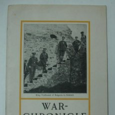 Libros antiguos: WAR - CHRONICLE. OCTOBER 1915. WITH PHOTOS. 48 PAGES.. Lote 20198067