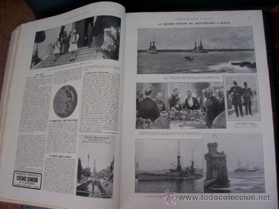 Libros antiguos: LILLUSTRAZIONE ITALIANA - AÑO 1914 - 2 TOMOS (AÑO COMPLETO) - ENVÍO GRATIS - Foto 6 - 23941672