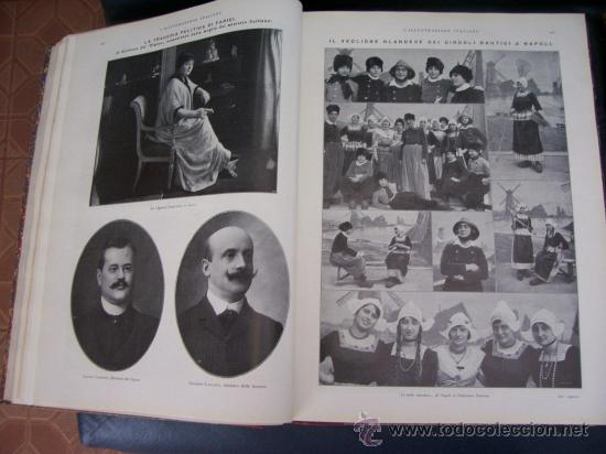 Libros antiguos: LILLUSTRAZIONE ITALIANA - AÑO 1914 - 2 TOMOS (AÑO COMPLETO) - ENVÍO GRATIS - Foto 7 - 23941672