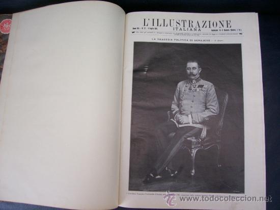 Libros antiguos: LILLUSTRAZIONE ITALIANA - AÑO 1914 - 2 TOMOS (AÑO COMPLETO) - ENVÍO GRATIS - Foto 20 - 23941672