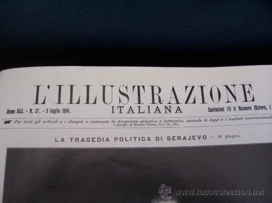 Libros antiguos: LILLUSTRAZIONE ITALIANA - AÑO 1914 - 2 TOMOS (AÑO COMPLETO) - ENVÍO GRATIS - Foto 21 - 23941672