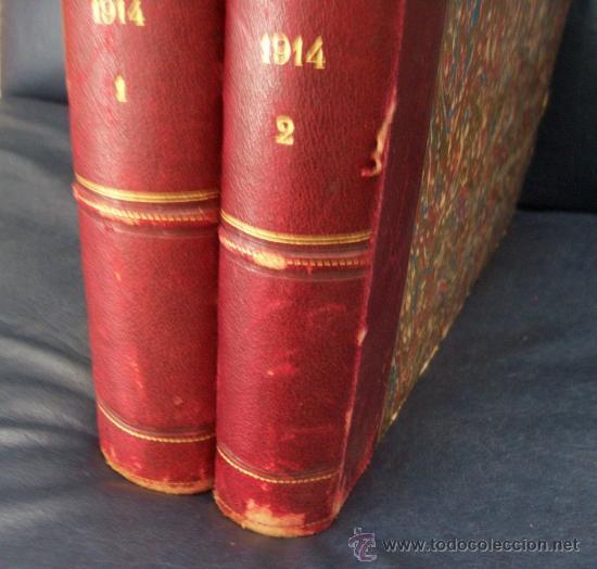 Libros antiguos: LILLUSTRAZIONE ITALIANA - AÑO 1914 - 2 TOMOS (AÑO COMPLETO) - ENVÍO GRATIS - Foto 31 - 23941672