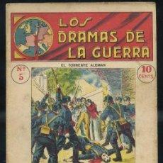 Libros antiguos: LOS DRAMAS DE LA GUERRA Nº5 : EL TORRENTE ALEMÁN. Lote 31456490