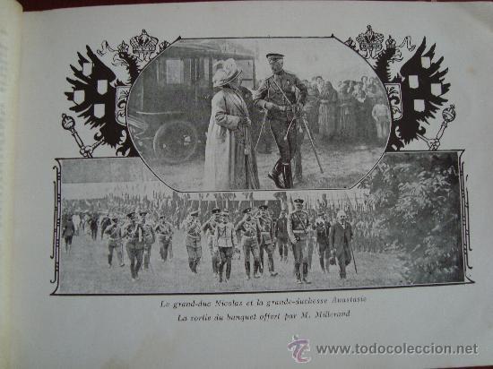 Libros antiguos: (378) SOUVENIR DES GRANDES MANOEUVRES DE 1912 - Foto 3 - 31774139